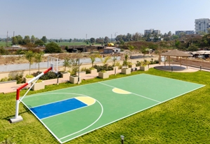 Practice Basket Ball Court