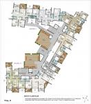 C,D Wing Eighth Floor Plan