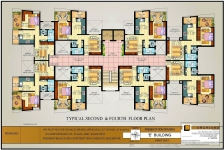 Typical 2nd, 4th Floor Plan E Bldg.