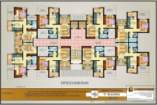 Fifth Floor Plan E Bldg.