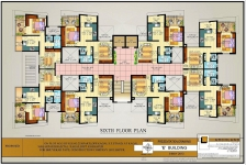 Sixth Floor Plan E Bldg.