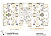 A wing Ground Floor & B wing 1st Floor Plan