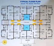 Typical Ground, 1st,2nd,3rd Floor Plan