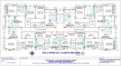 Mahalaxmi Presidency - Stilt Upper 1st Floor Plan  (Wing C)