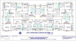 Mahalaxmi Presidency -Stilt Upper 2nd Floor Plan  (Wing C)
