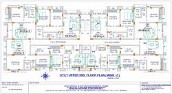 Mahalaxmi Presidency - Stilt Upper 3rd Floor Plan  (Wing C)