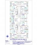 Mahalaxmi Presidency - Stilt Upper 3rd Floor Plan  (Wing D)