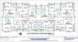 Mahalaxmi Presidency - Stilt Upper Ground Floor Plan  (Wing C)