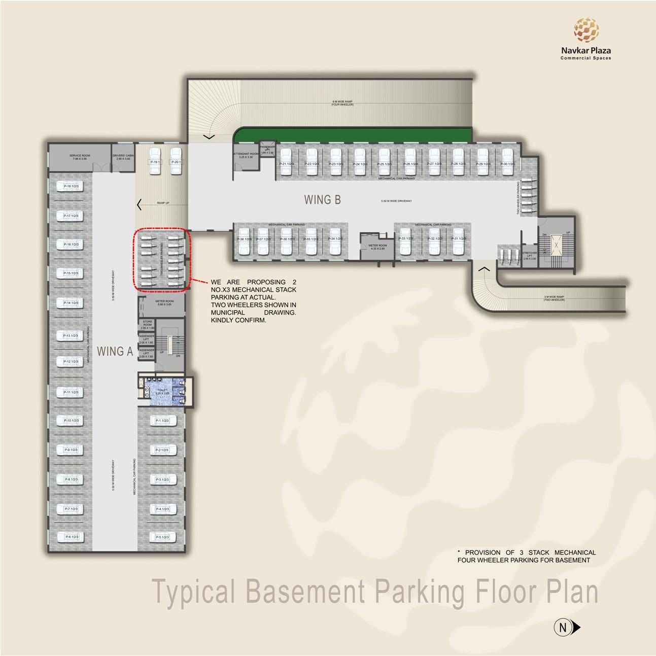 Navkar Plaza Floor Plans, Project 3D Views In Ratnagiri