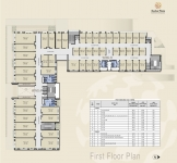 A & B Wing Commercial - First Floor Plan