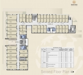 A & B Wing Commercial - 2nd Floor Plan
