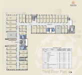 A & B Wing Commercial - 3rd Floor Plan