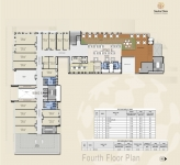 A & B Wing Commercial - 4th Floor Plan