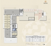 A & B Wing Commercial - 5th Floor Plan