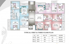 Typical 1st & 3rd Floor Plan