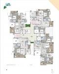 B Wing 2 & 3 BHK - 3rd Floor Plan