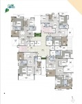 B Wing 2 & 3 BHK - 4th Floor Plan