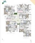 B Wing 2 & 3 BHK - 6th Floor Plan