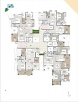 B Wing 2 & 3 BHK - 9th Floor Plan