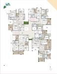 B Wing 2 & 3 BHK - 9th Floor Plan