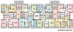 Y Type - 2nd Floor Plan