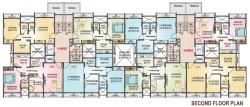 Z Type - 2nd Floor Plan
