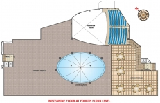 Mezzanine Floor at 4th Floor Level