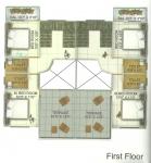 Wing C - Row Bungalow 1st Floor Plan