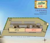 A & B Building - Basement & Parking Floor Plan