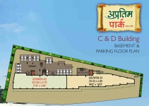 C & D Building - Basement & Parking Floor Plan