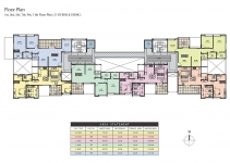 1st, 3rd, 5th, 7th, 9th ,11th Floor Plan