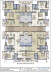 Typical 2nd, 4th, 6th Floor Plan