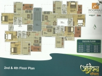 2nd & 4th Floor Plan