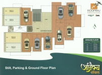 Stilt, Parking & Ground Floor Plan
