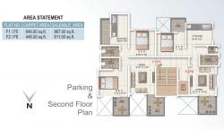 Parking & Second Floor Plan
