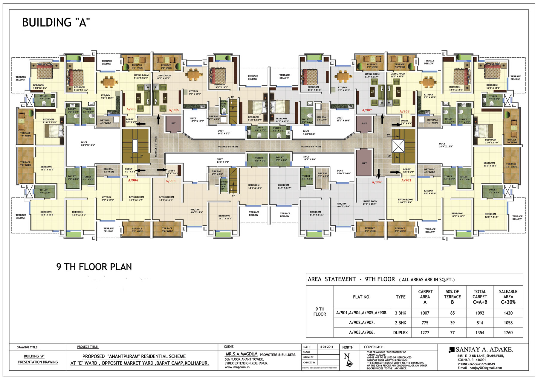building floor plan anantpuram floor plans project 3d views in kolhapur 10836