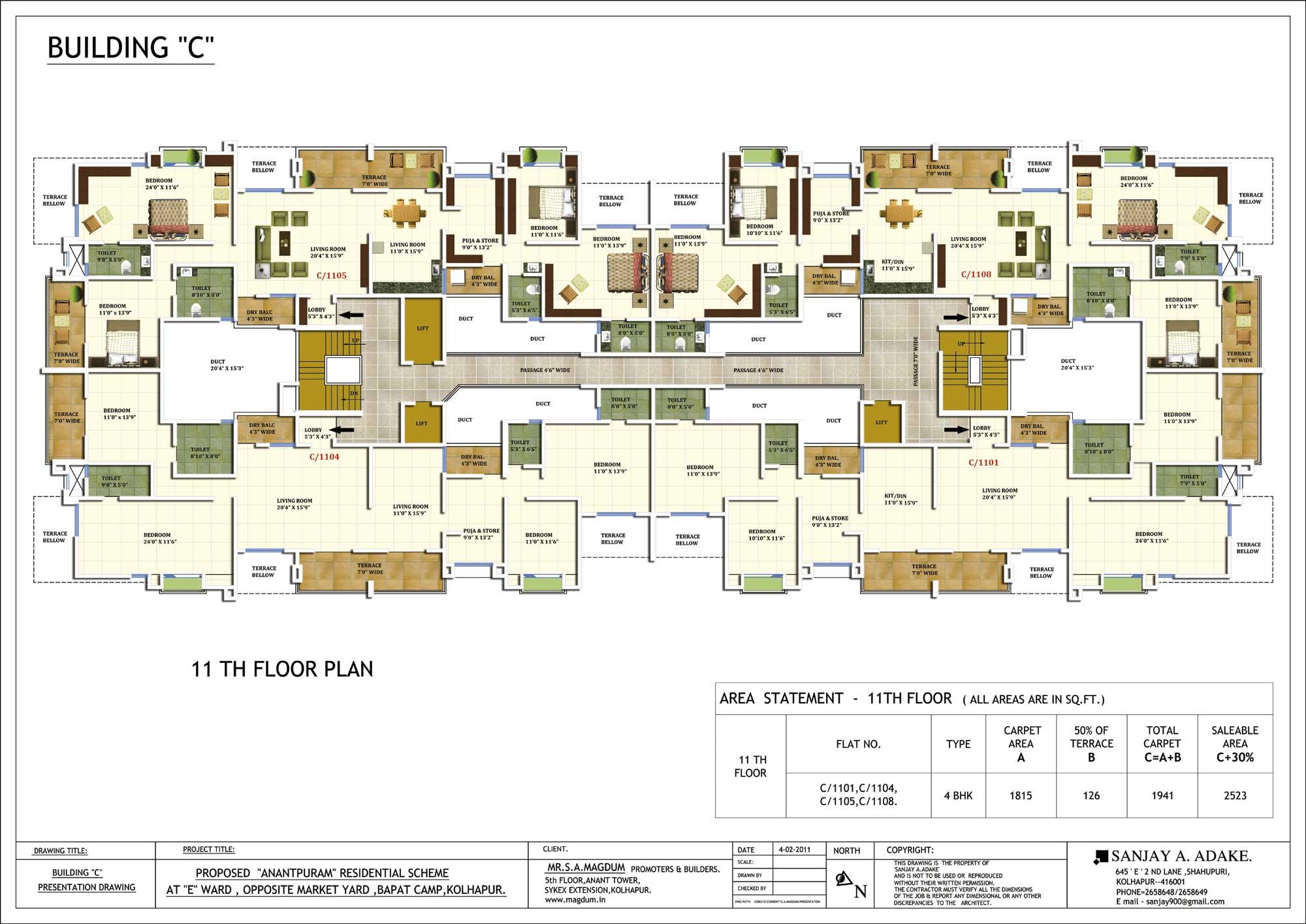mail floorplan. C Building - 11th Floor Plan Mail Floorplan P