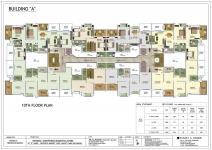 A Building - 10th Floor Plan