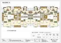 A Building - 11th Floor Plan