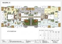 A Building - 8th Floor Plan