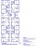B Building 2nd, 3rd Floor Plan