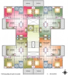 C Bldg. - Typical 2nd, 4th, 6th Floor Plan
