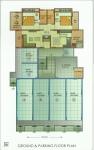 Ground Floor & Parking Floor Plan