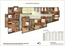 5th & 6th Floor Plan