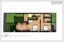 Bungalow No. 3 - First Floor Plan