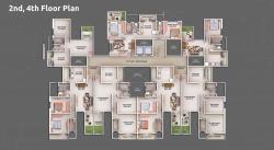 2nd, 4th Floor Plan