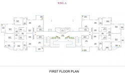 Wing  A - First Floor Plan