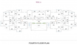 Wing  A - Fourth Floor Plan