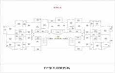 Wing  A - Fifth Floor Plan