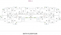 Wing  A - Sixth Floor Plan